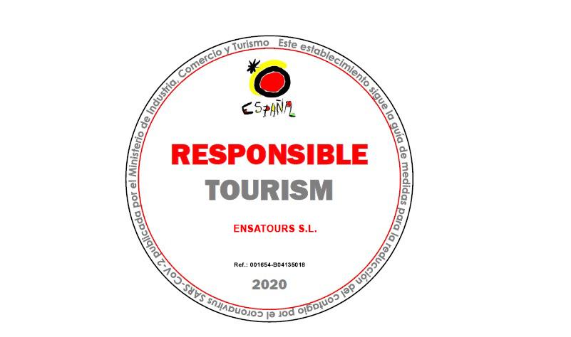 Responsible Tourism Autocares Ensatours