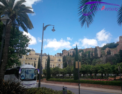 ENSATOURS en La Alcazaba